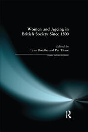 Women and Ageing in British Society since 1500