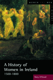 A History of Women in Ireland, 1500-1800