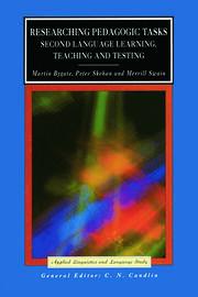 Researching Pedagogic Tasks: Second Language Learning, Teaching, and Testing