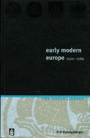 Early Modern Europe 1500-1789
