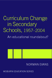 Curriculum Change in Secondary Schools, 1957-2004: A curriculum roundabout?