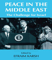 PEACE IN THE MIDDLE EAST - 1st Edition book cover