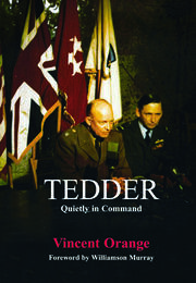 Tedder: Quietly in Command