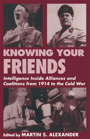 Uneasy Alliances: French Military Intelligence and the American Army during the First World War Jennifer D. Keene