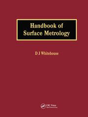 Handbook of Surface Metrology