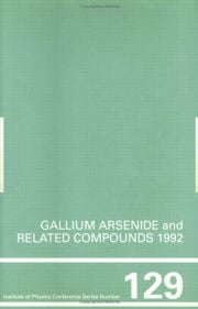 Gallium Arsenide and Related Compounds 1992, Proceedings of the 19th INT Symposium, 28 September-2 October 1992, Karuizawa, Japan