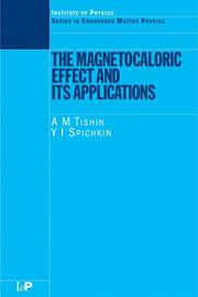 The Magnetocaloric Effect and its Applications