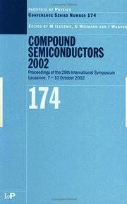 Compound Semiconductors 2002