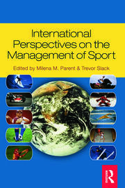 INTL PERSPECTIVE MGNT OF SPORTS - 1st Edition book cover