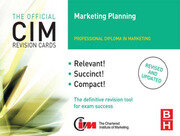 CIM Revision Cards Marketing Planning