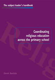 Coordinating Religious Education Across the Primary School