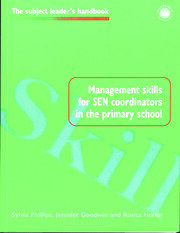Management Skills for SEN Coordinators in the Primary School