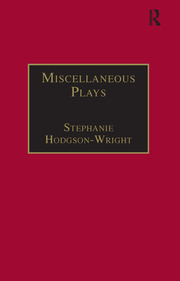 Miscellaneous Plays: Printed Writings 1641–1700: Series II, Part One, Volume 7