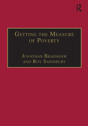 Getting the Measure of Poverty: The Early Legacy of Seebohm Rowntree