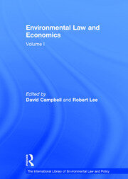 Environmental Law and Economics, Volumes I and II: Volume I: Private Law and Property Rights; Volume II: Pollution, Property and Public Law