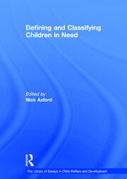 Defining and Classifying Children in Need
