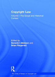 Copyright Law: Volume I: The Scope and Historical Context