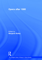 Opera after 1900