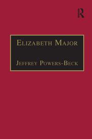 Elizabeth Major: Printed Writings 1641–1700: Series II, Part Two, Volume 6