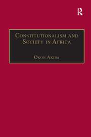Constitutionalism and Society in Africa