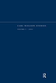Carl Nielsen Studies: Volume 1