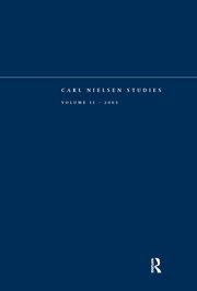 Carl Nielsen Studies: Volume 2