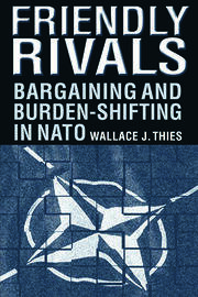Friendly Rivals: Bargaining and Burden-shifting in NATO