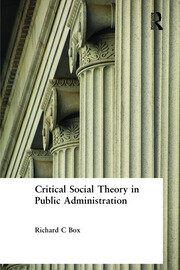 Critical Social Theory in - 1st Edition book cover