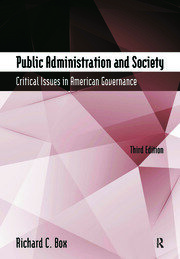 Public Administration and - 1st Edition book cover