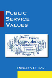 Featured Title - Public Service Values: Box - 1st Edition book cover