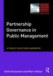 Partnership Governance in Public Management: A Public Solutions Handbook