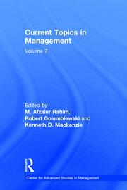 Current Topics in Management: Volume 7