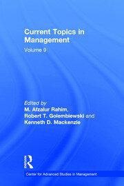 Current Topics in Management: Volume 9
