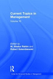Current Topics in Management: Volume 10