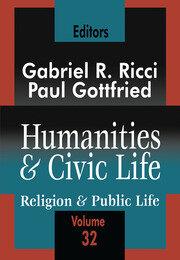 Humanities and Civic Life: Volume 32