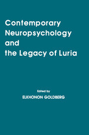 Contemporary Neuropsychology and the Legacy of Luria