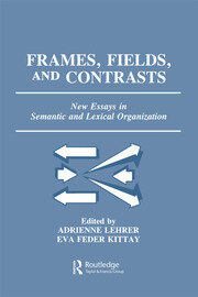 Toward a Frame-Based Lexicon: The Semantics of RISK and its Neighbors