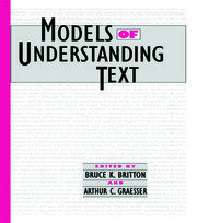 Models of Understanding Text