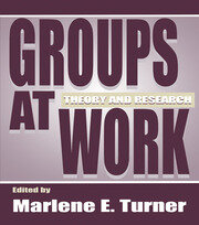 Groups at Work: Theory and Research