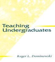 Teaching Undergraduates