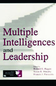 Multiple Intelligences and Leadership - 1st Edition book cover