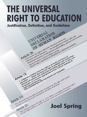 The Universal Right to Education - 1st Edition book cover