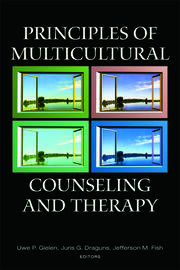 Principles of Multicultural Counseling and Therapy