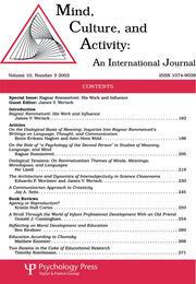 Mind, Culture, and Activity: An International Journal