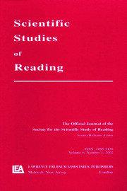 Reading Development in Adults