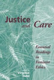 Feminist Moral Inquiry and the Feminist Future [1993]