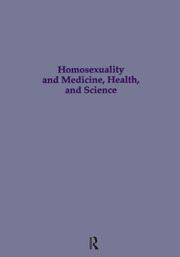 Homosexuality & Medicine, Health & Science