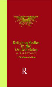 Religious Bodies in the U.S.: A Dictionary