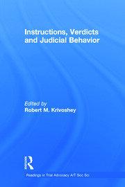 Instructions, Verdicts, and Judicial Behavior