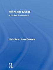 Albrecht Durer: A Guide to Research